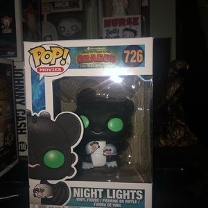 Funko pop httyd night lights figure